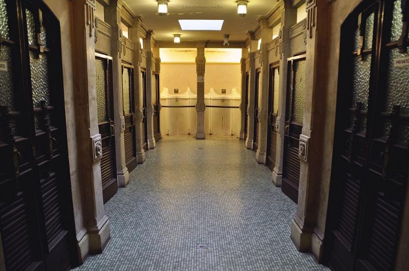Туалеты в Италии