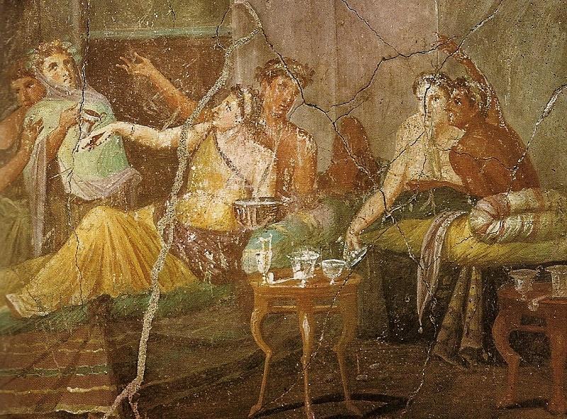 Завтрак римлян