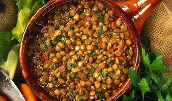 Итальянский гарнир из овощей
