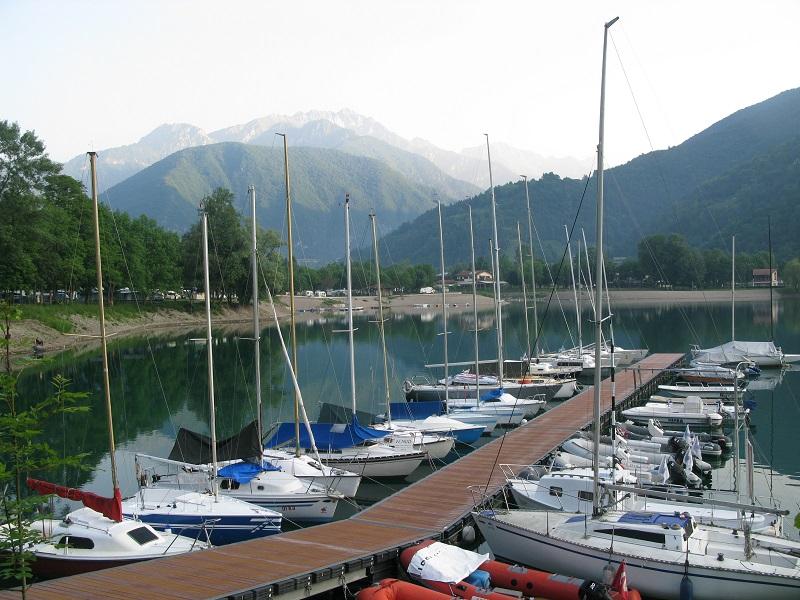 Озеро Ледро. Италия