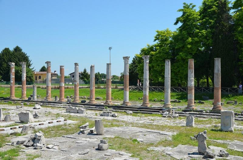 Аквилея -- археологическая находка в Италии