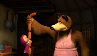 Маша и медведь заговорили по-итальянски
