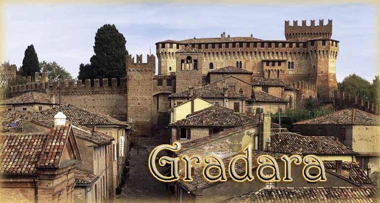 Замок Градара в Италии