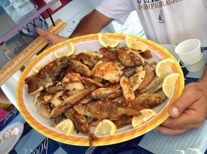 В Италии рыба вкуснейшая и свежайшая