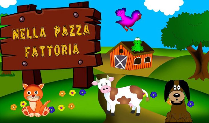 Детские песенки на итальянском языке -- смотреть и слушать