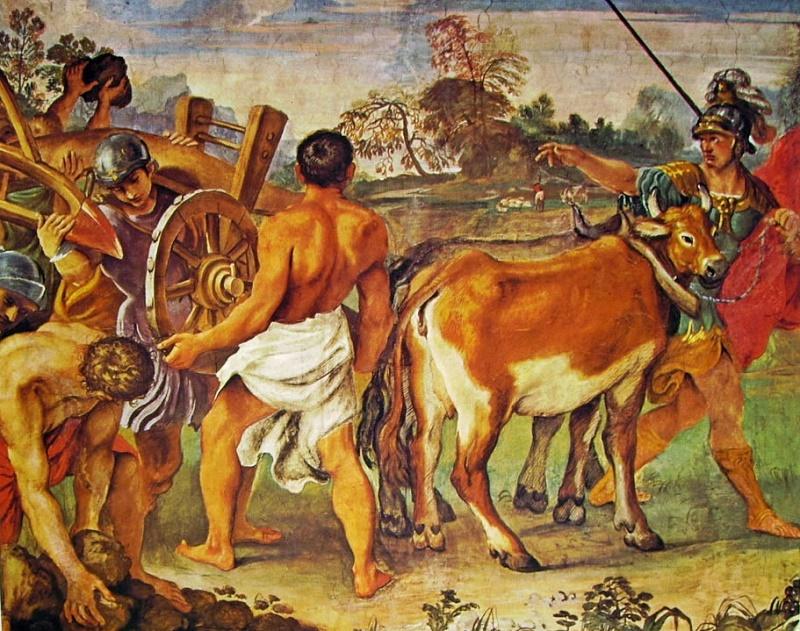 Происхождение итальянцев, основание Рима