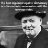 О вреде демократии…