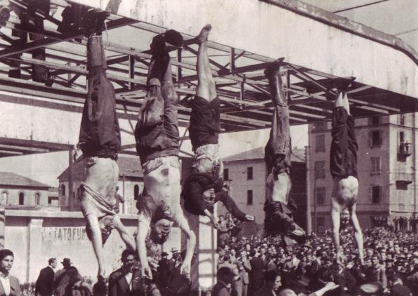 Смерть Муссолини и Петаччи