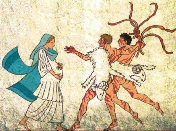 Праздник луперкалий в Древнем Риме