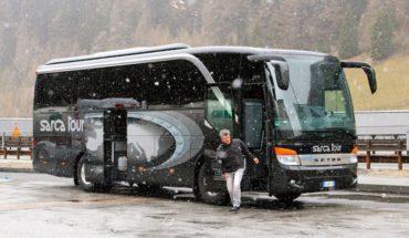 Автобусом в Италию