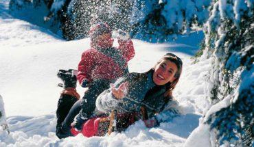 Дети горные лыжи Италия