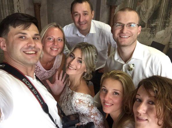 Свадьба в Италии фото