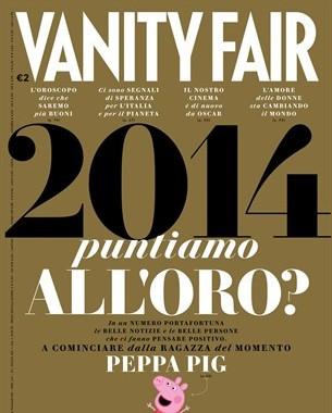 Пеппа Пиг красуется в итальянском Ванити фейр