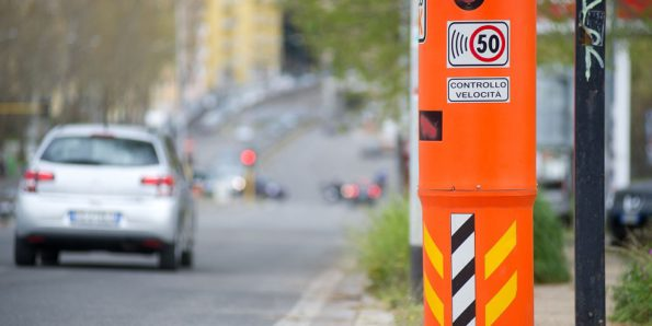 Превышение скорости в Италии
