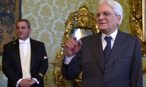 Президент Италии Маттарелла