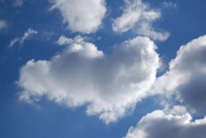 Облако в форме сердечка