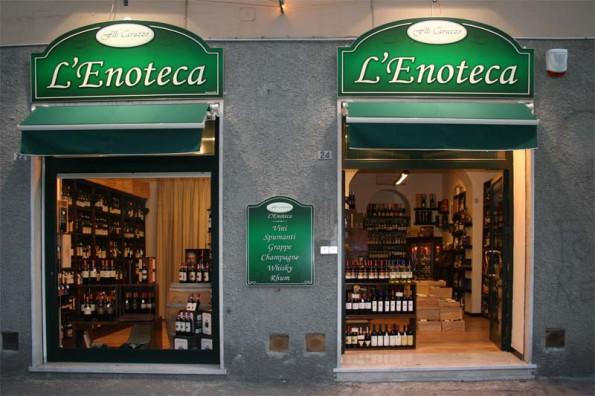 Винные магазины в Италии