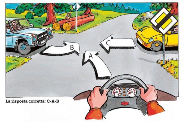 Итальянский юмор за рулем