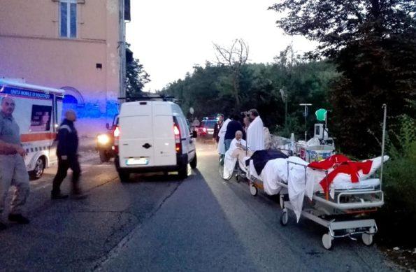 Землетрясение в Италии август 2016