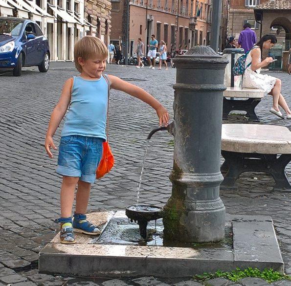Можно ли пить воду из-под крана в Италии