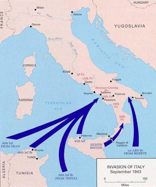 Кто освободил Италию во Второй Мировой войне