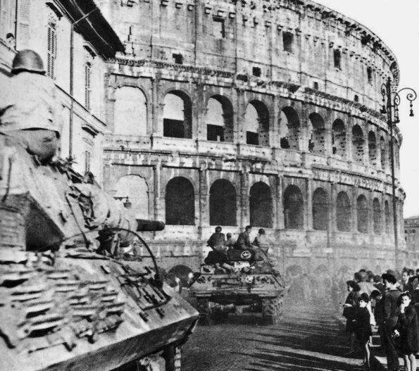 Освобождение Италии от немцев